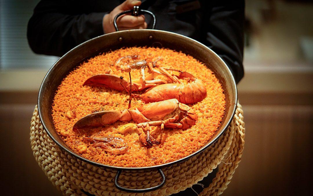 La A'lbufera Meliá Castilla más de 35 años cocinando arroces en Madrid.