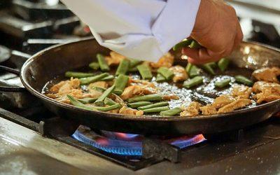 Paella para veganos