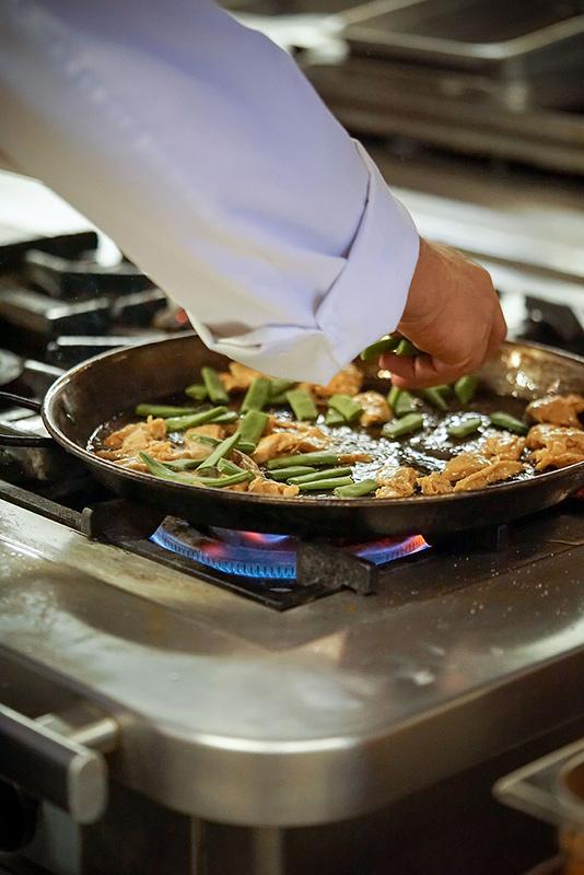 Resturante L'Albufera Melia Castilla Cocina