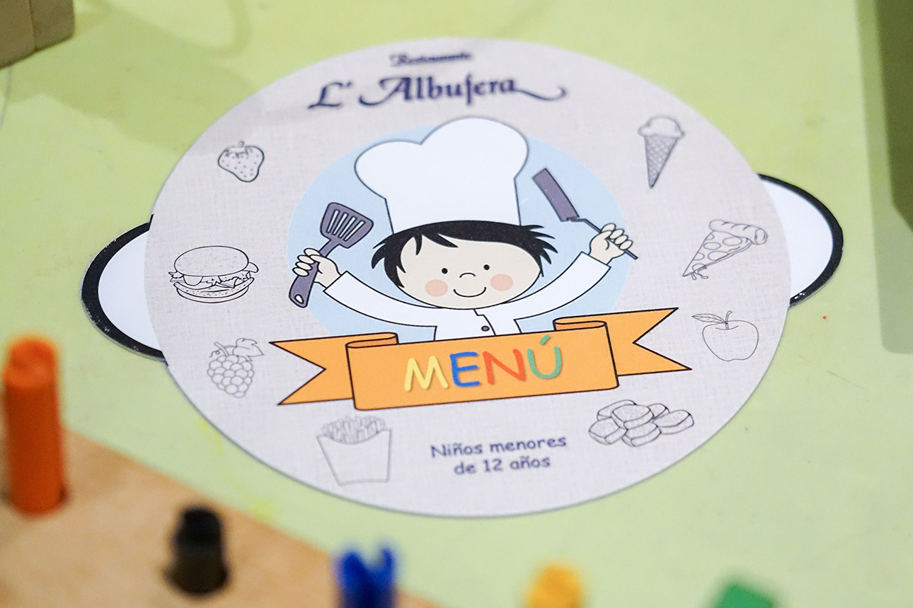 Restaurante L'Albufera Menú infantil
